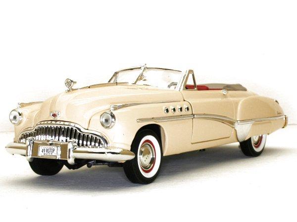 BUICK Roadmaster - 1949 - cream - MotorMax 1:18