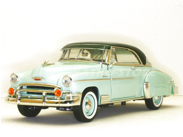 CHEVROLET Bel Air - 1950 - lightgreen - MotorMax 1:18