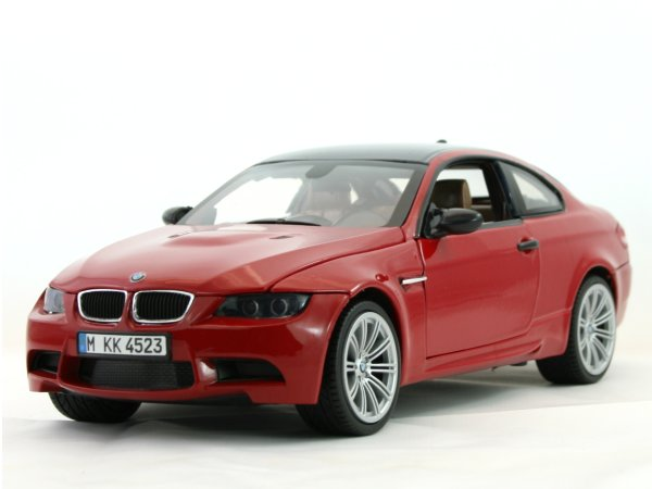 BMW M3 Coupe - red - MotorMax 1:18