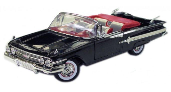 CHEVROLET Impala - 1960 - black - MotorMax 1:18