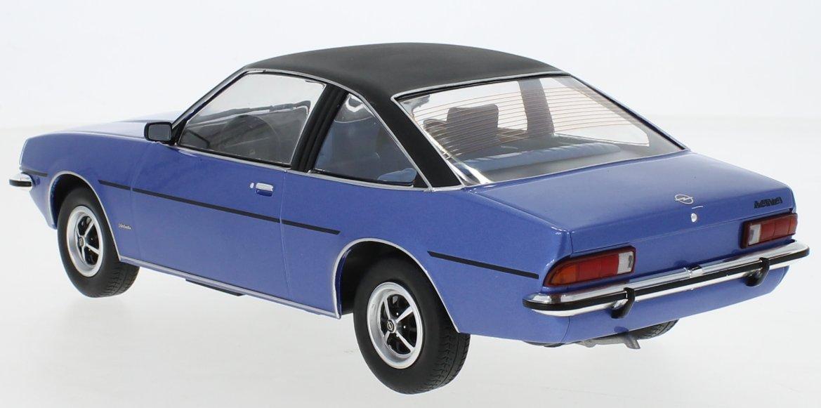 miniatuur 2 - OPEL Manta B Berlinetta - 1975 - blue / black - MCG 1:18