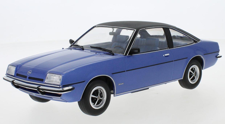miniatuur 3 - OPEL Manta B Berlinetta - 1975 - blue / black - MCG 1:18