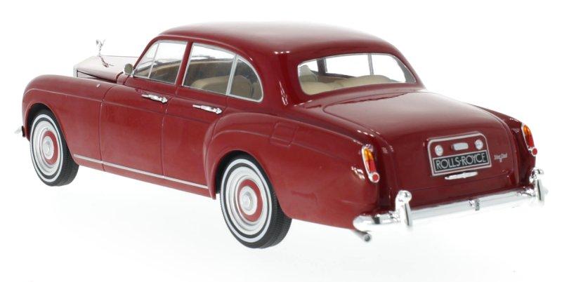 ROLLS-ROYCE-Silver-Cloud-III-Flying-Spur-1965-red-MCG-1-18 miniatuur 3