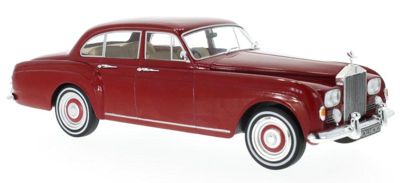 ROLLS-ROYCE-Silver-Cloud-III-Flying-Spur-1965-red-MCG-1-18 miniatuur 4
