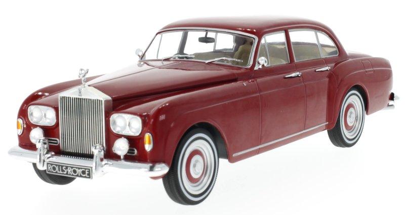 ROLLS-ROYCE-Silver-Cloud-III-Flying-Spur-1965-red-MCG-1-18 miniatuur 5