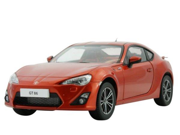 TOYOTA GT86 - orangemetallic - Century Dragon 1:18