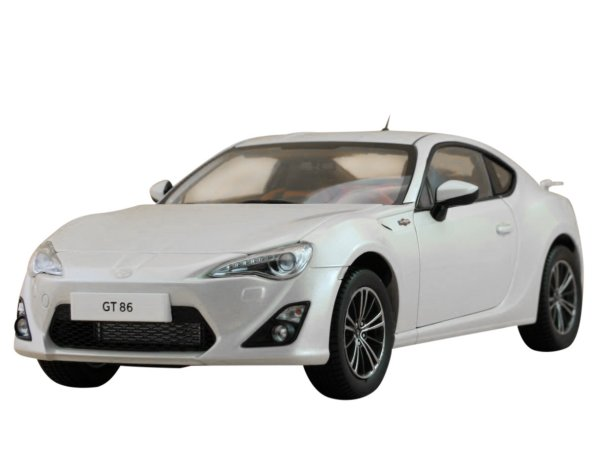 TOYOTA GT86 - whitemetallic - Century Dragon 1:18
