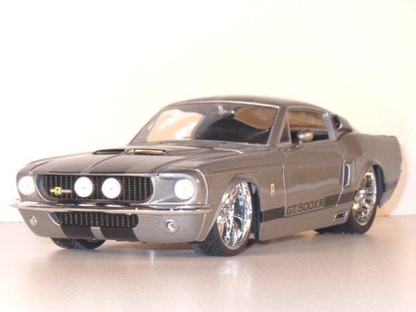 FORD Mustang SHELBY GT 500 - 1967 - greymetallic - JADA 1:18