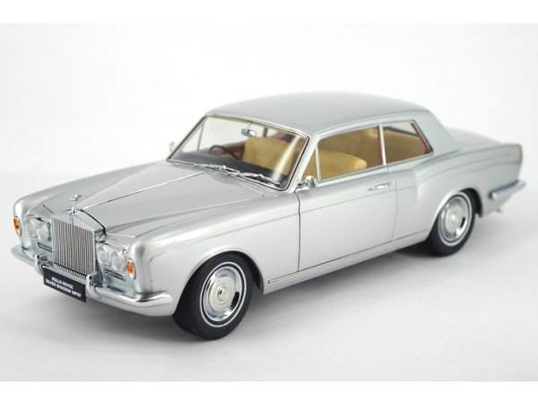 ROLLS ROYCE Silver Shadow MPW Coupe - silver - Paragon Models 1:18