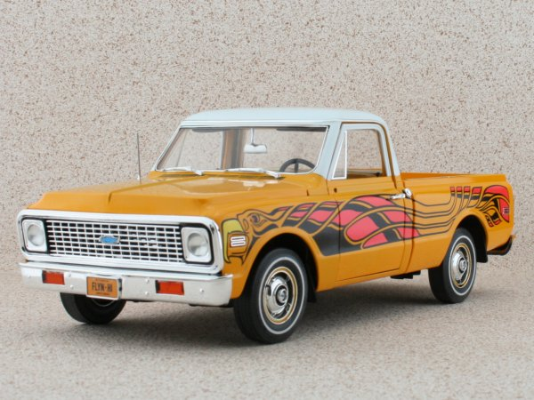 CHEVROLET Fleetside Pick up - 1972 - Hugger orange - HIGHWAY 61 1:18
