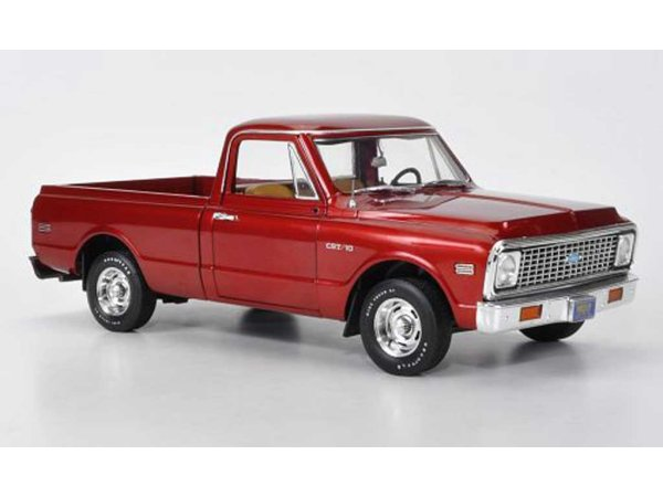 CHEVROLET Fleetside Pick up - 1972 - redmetallic - HIGHWAY 61 1:18