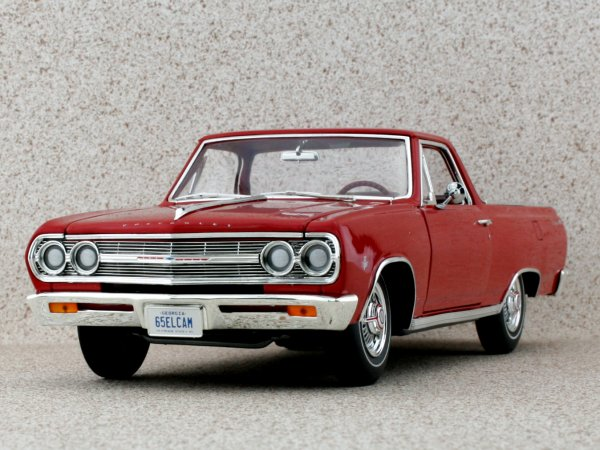 CHEVROLET El Camino - 1965 - red - GMP / ACME 1:18