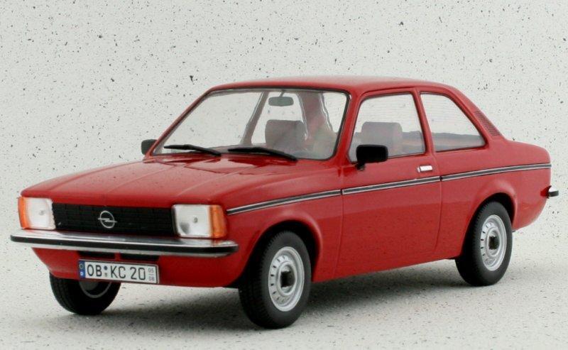 OPEL Kadett C2 - 1977 - red - Triple9 1:18
