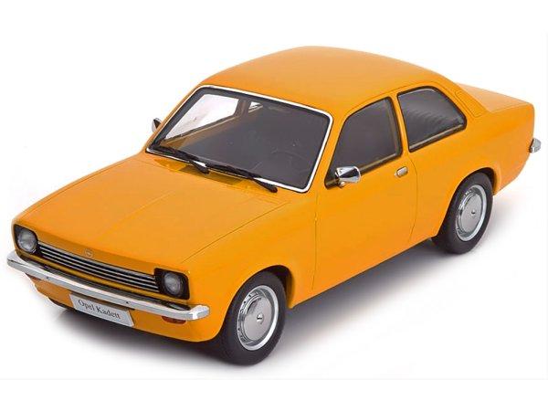 OPEL Kadett C Coupe - yellow - KK Scale 1:18
