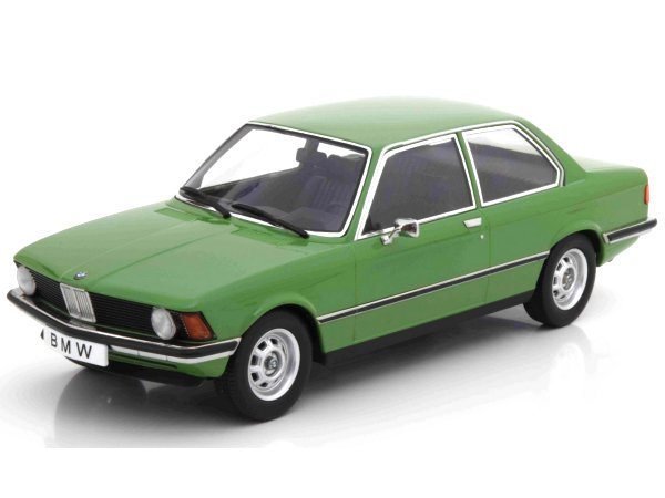 BMW 318i E21 - 1975 - green - KK Scale 1:18