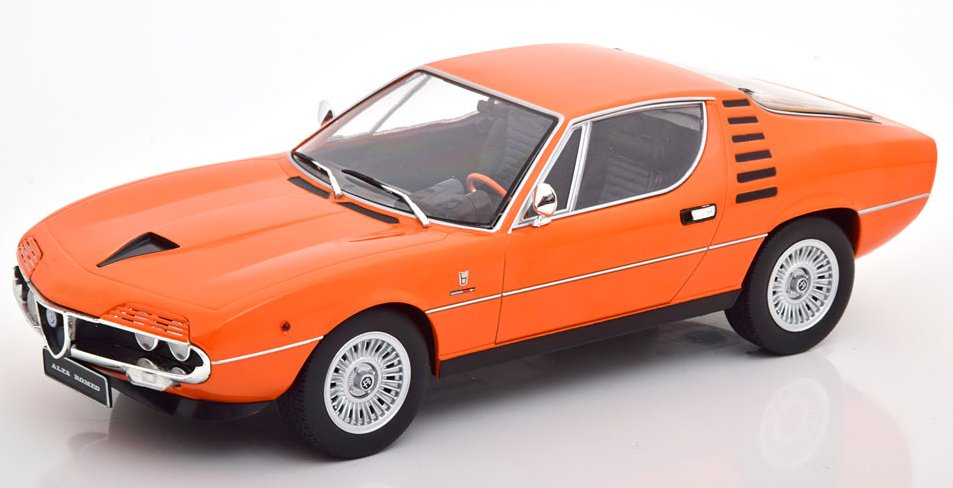 ALFA ROMEO Montreal - 1970 - orange - KK 1:18