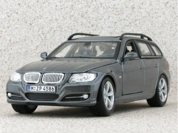 BMW 3 Series Touring - greymetallic - Bburago 1:24