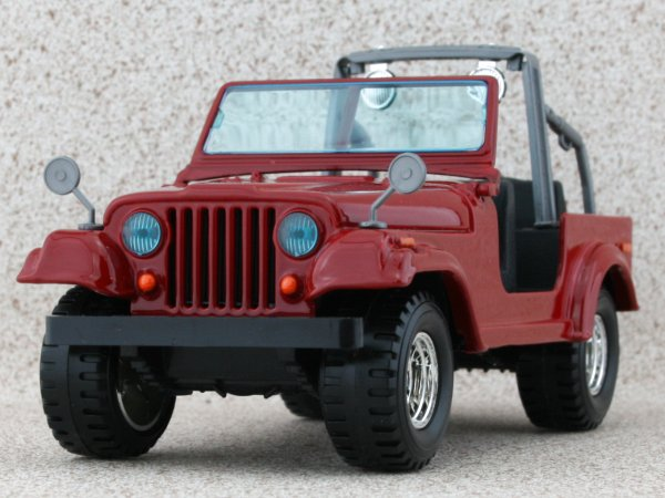 JEEP Wrangler - red - Bburago 1:24