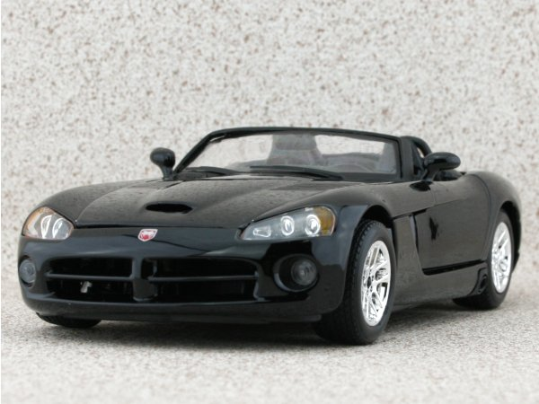 DODGE Viper SRT-10 - black - Bburago 1:24