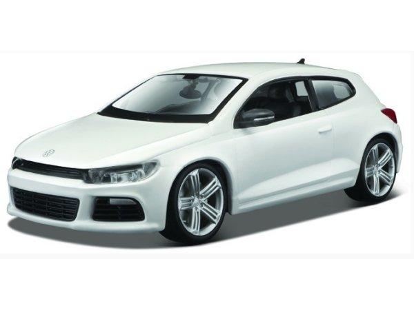 VW Volkswagen Scirocco R - white - Bburago 1:24