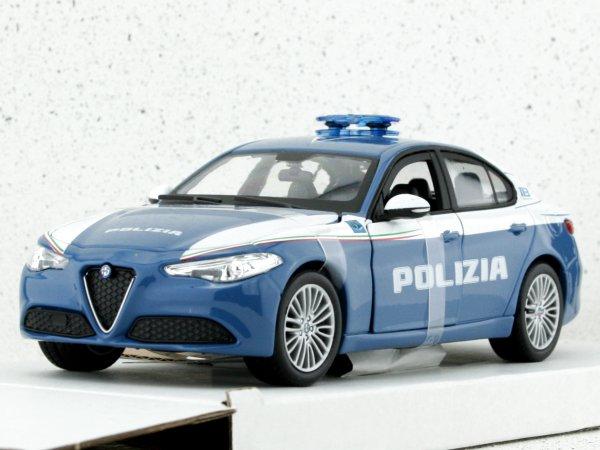 ALFA ROMEO Giulia - Polizia - Bburago 1:24