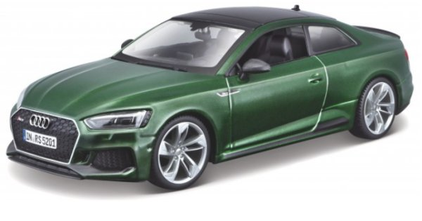 AUDI RS 5 Coupe - greenmetallic - Bburago 1:24
