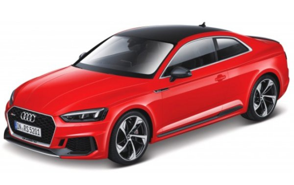 AUDI RS 5 Coupe - red - Bburago 1:24