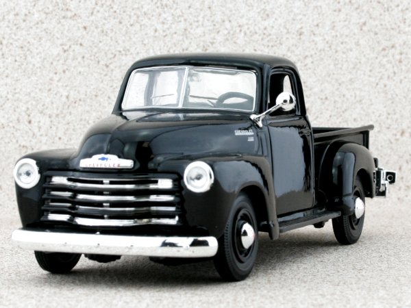 CHEVROLET 3100 Pick up - 1950 - black - Maisto 1:25