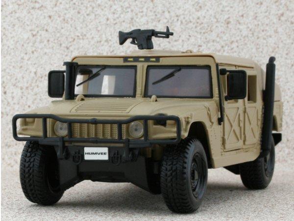 AMC HUMMER Humvee - sand - Maisto 1:27
