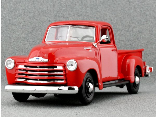 CHEVROLET 3100 Pick up - 1950 - redorange - Maisto 1:25