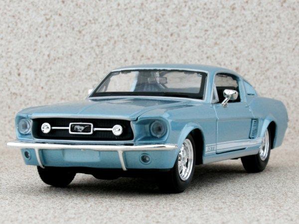 FORD Mustang GT - 1967 - bluemetallic - Maisto 1:24