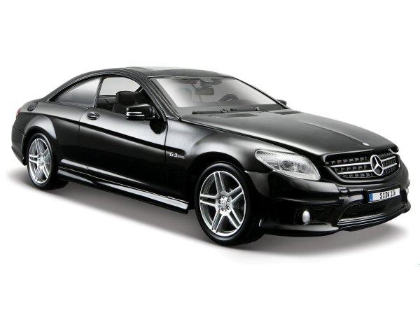 MB Mercedes Benz CL63 AMG - black - Maisto 1:24
