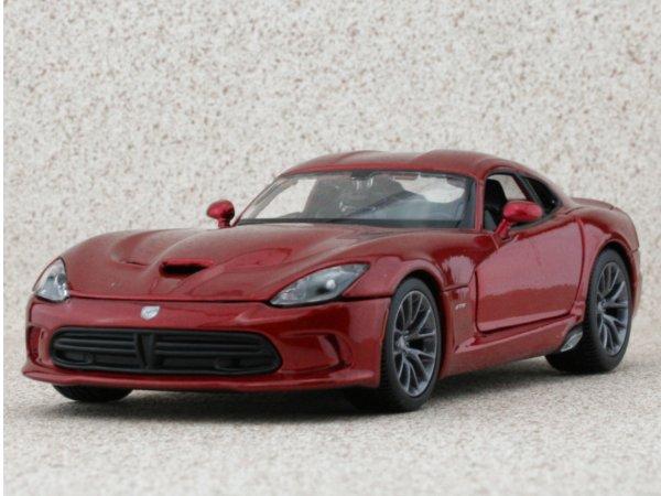DODGE Viper GTS - 2013 - redmetallic - Maisto 1:24
