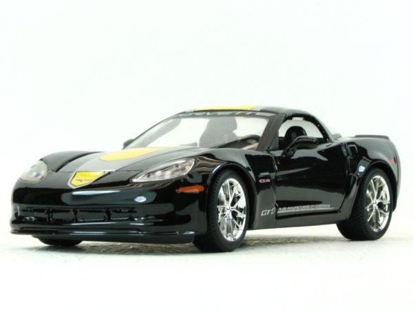CHEVROLET Z06 GT1 - 2009 - black - Maisto 1:24