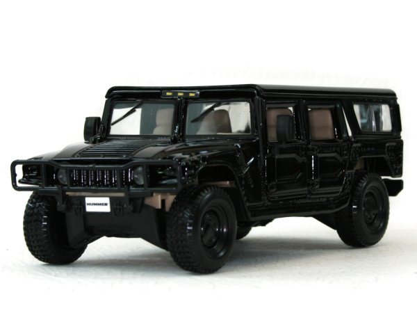 AMC HUMMER H1 - 4 Door Wagoon - black - Maisto 1:27