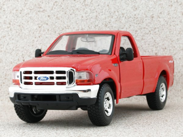 FORD F-350 Super Duty Pick up - 1999 - red - Maisto 1:27
