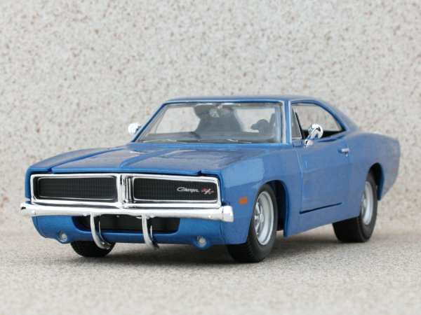 DODGE Charger R/T - 1969 - bluemetallic - Maisto 1:24