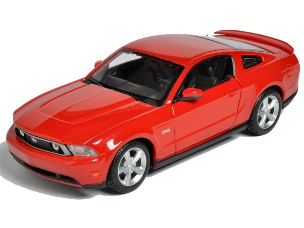 FORD Mustang GT - 2011 - red - Maisto 1:24