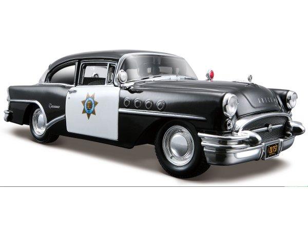 BUICK Century - 1955 - Highway Patrol - Maisto 1:26