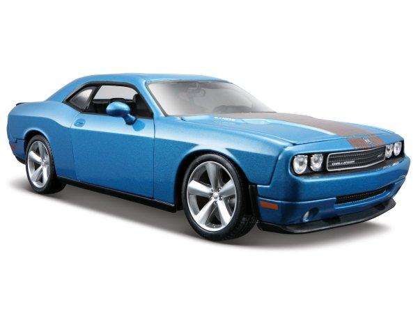 DODGE Challenger SRT8 - 2008 - bluemetallic - Maisto 1:24