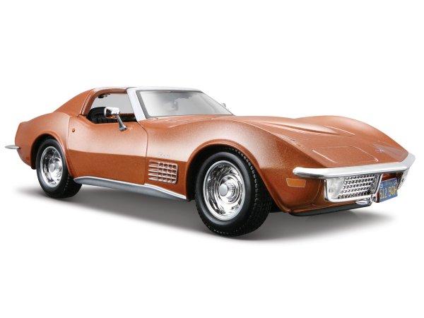 CHEVROLET Corvette - 1970 - brownmetallic - Maisto 1:24