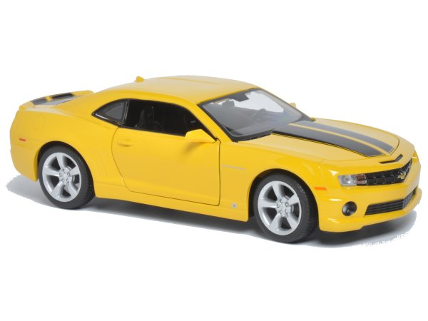 CHEVROLET Camaro SS RS - 2010 - yellow - Maisto 1:24