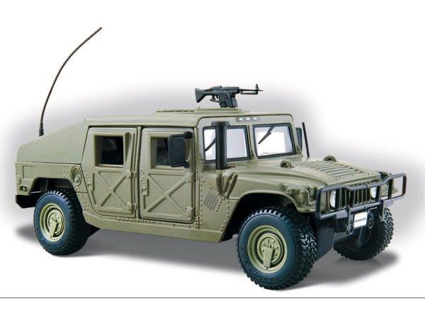 AMC HUMMER Humvee - green - Maisto 1:27