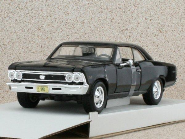 CHEVROLET Chevelle SS 396 - 1966 - black - Maisto 1:24