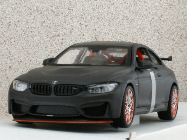 BMW M4 GTS - black dull - Maisto 1:24
