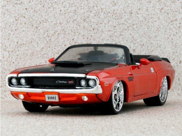 DODGE Challenger R/T - 1970 - orangemetallic - Maisto 1:24