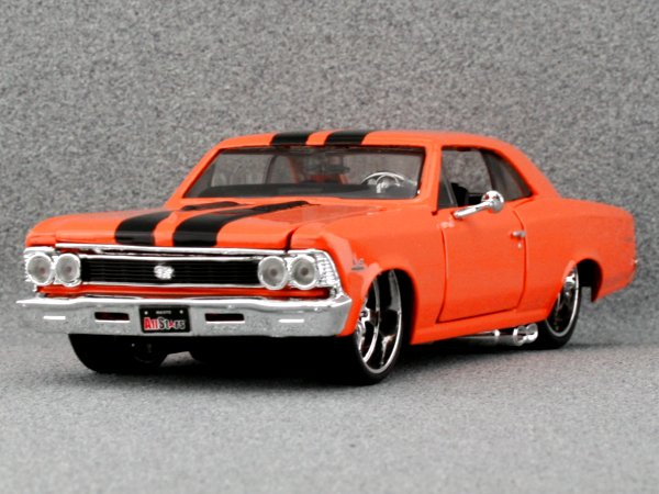 CHEVROLET Chevelle SS 396 - 1966 - orange - Maisto 1:24