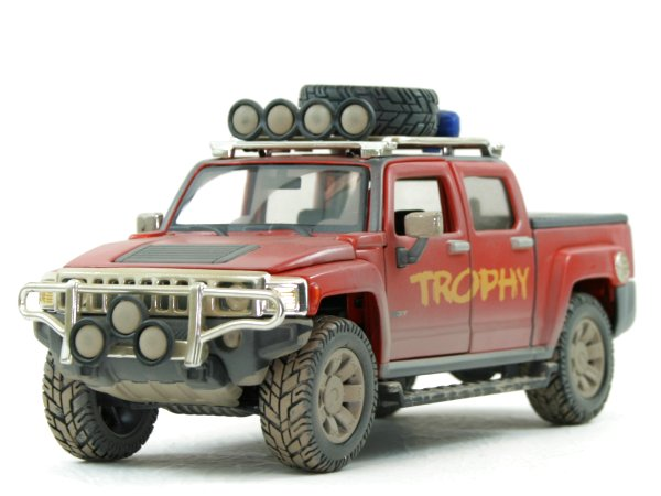 AMC HUMMER H3 T - 2009 - dirty - Maisto 1:26