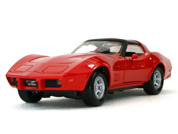 CHEVROLET Corvette - 1979 - red - MotorMax 1:24