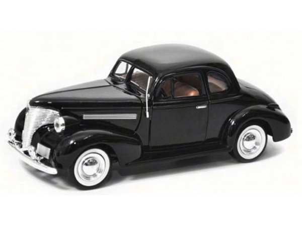 CHEVROLET Coupe - 1939 - black - MotorMax 1:24